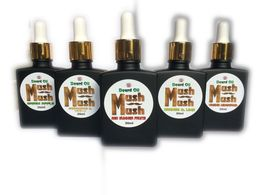 Mush Mush Beard Oil Bottles image